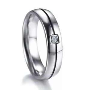 New Men's Titanium Wedding Bands